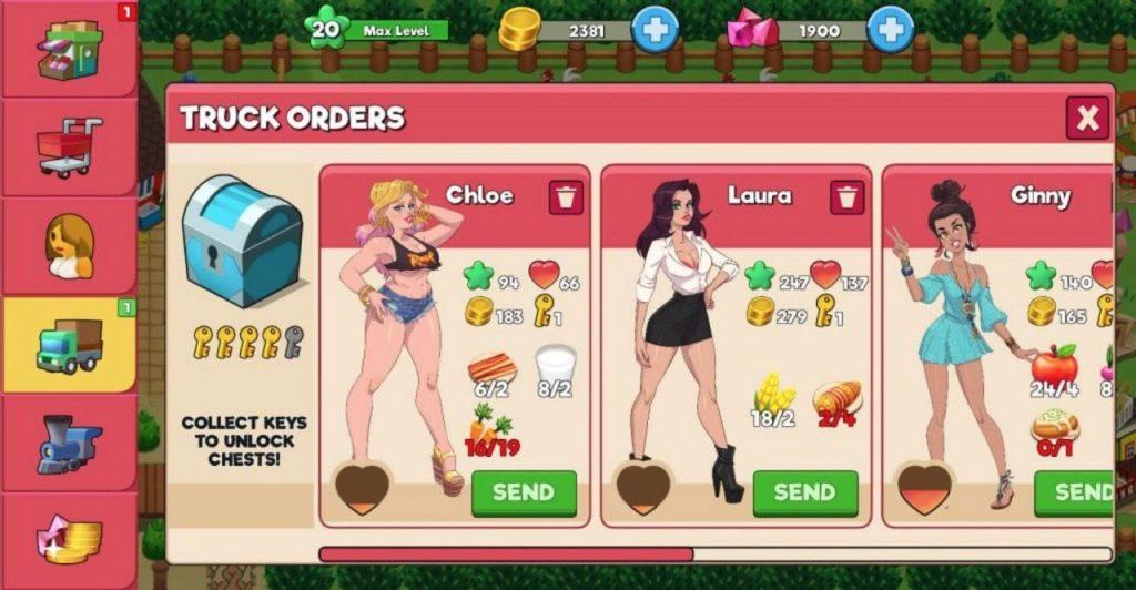 booty farm mobile porn game